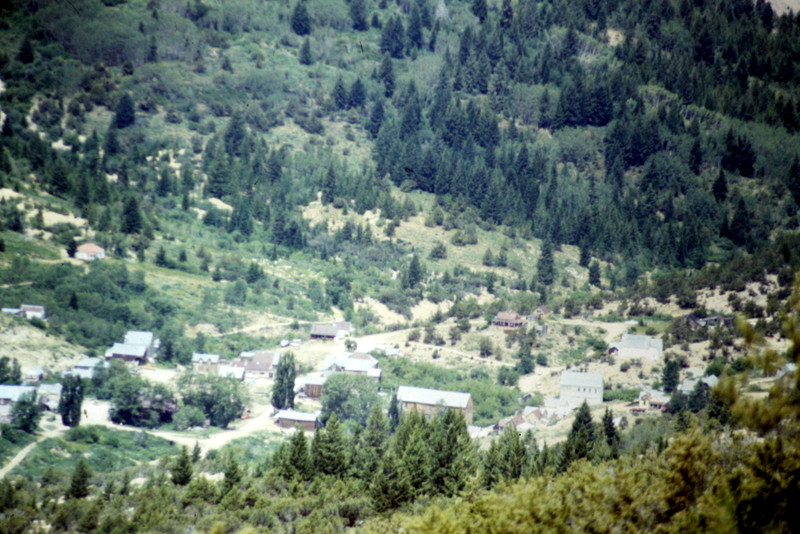 The old mining town of Silver City sits in a basin on the south side of the range's highest peaks. During the summer and hunting season the area will often be crowded on weekends.
