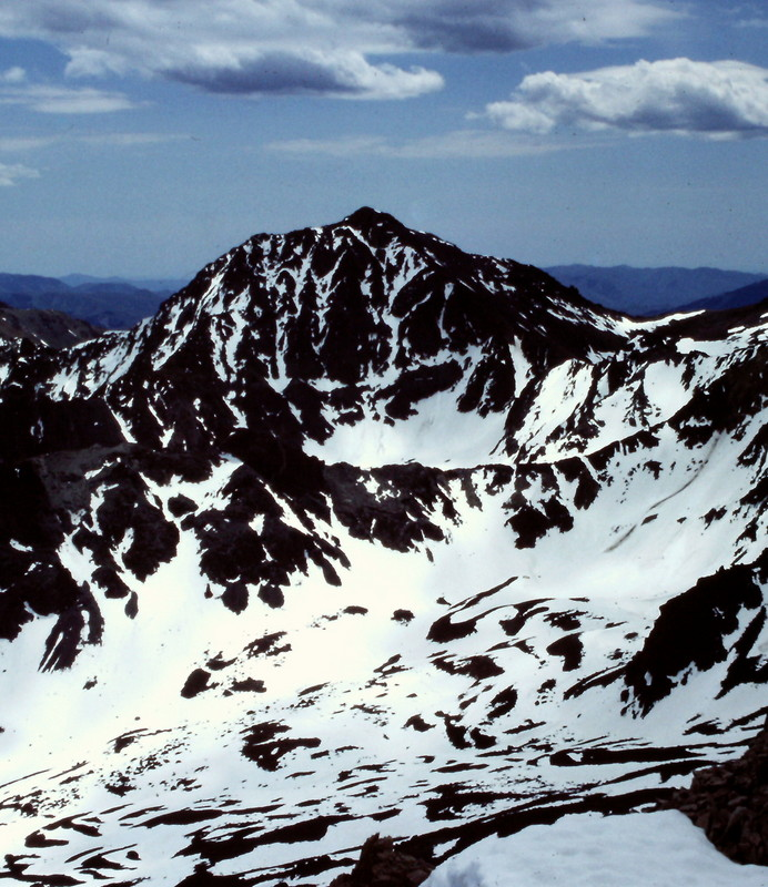 Silver Peak from Cerro Ciento.