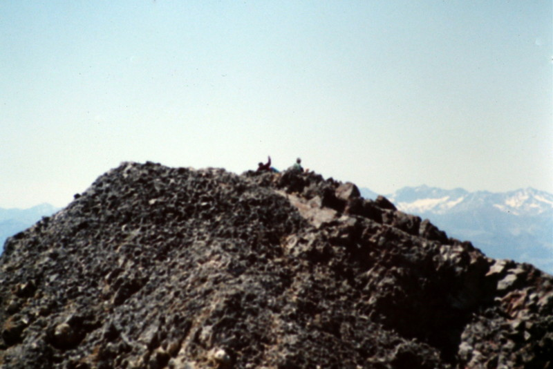 The summit of Trinity Peak.