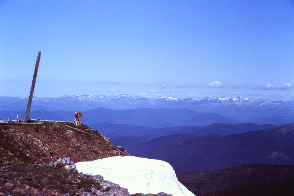 The summit of Mount Pend Oreille.