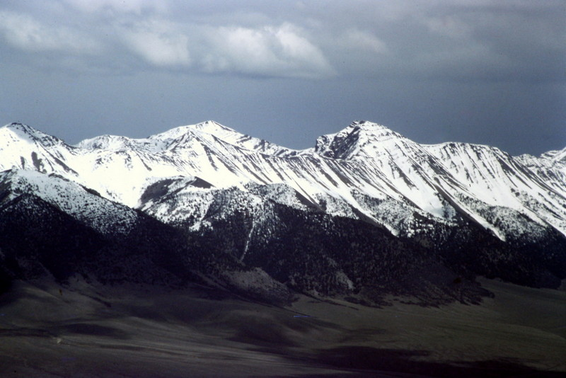 The Pahsimeroi portion of the Lost River Range from Lone Pine Peak's summit.