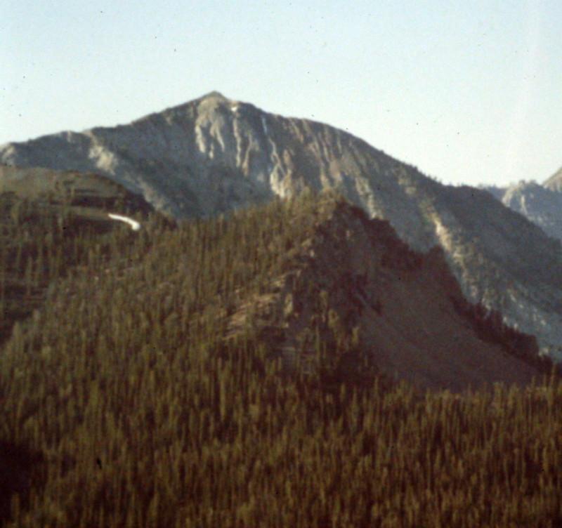 Peak 10126 viewed from Peak 10488.