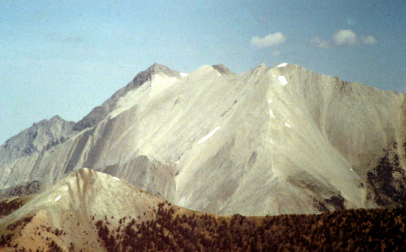 D.O. Lee Peak viewed from WCP-9.