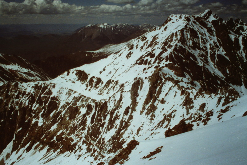 The West Face of Mount Idaho from Peak 11967.