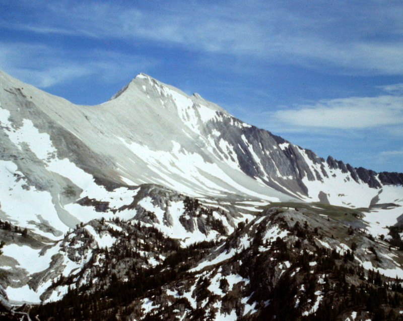 D.O. Lee Peak viewed from near O'Caulkens Lake.