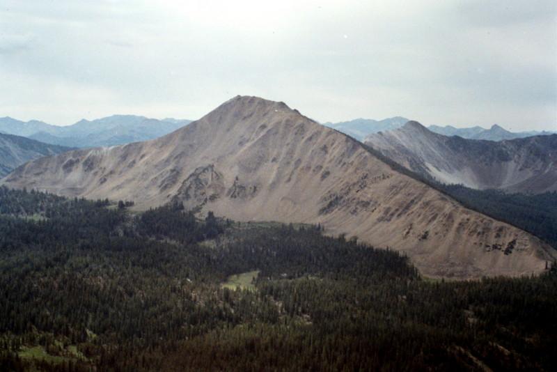 Peak 10713 viewed from Blackmon Peak.