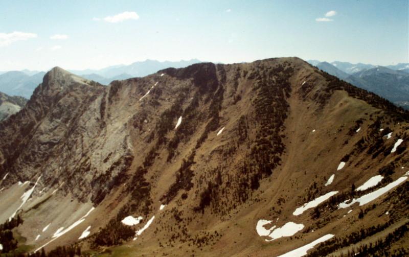 Croesus Peak from Washington Peak.