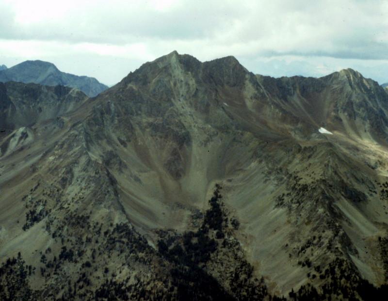 Glassford Peak from Ryan Peak.