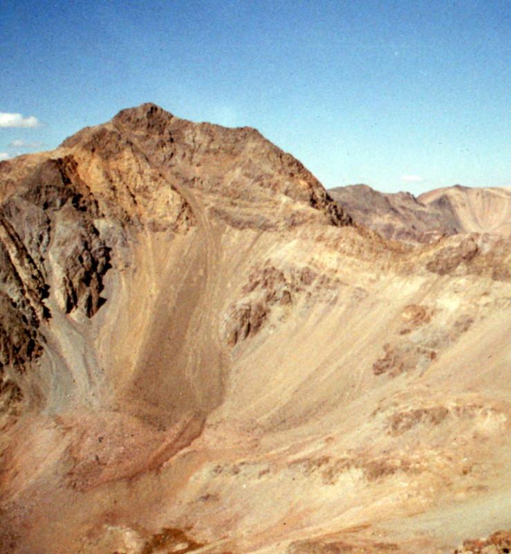 Lorenzo Peak, 11240, from Silver Peak.
