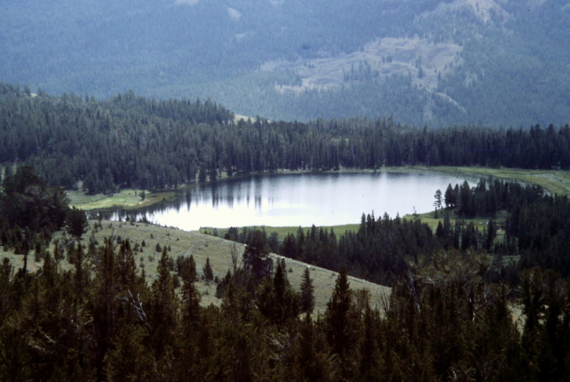 Frog Lake is on the edge of the proposed wilderness. It is accessible to dirt bikes.