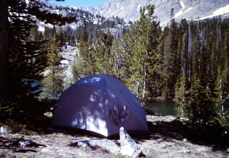 A quiet camp at O'Caulkens Lake.