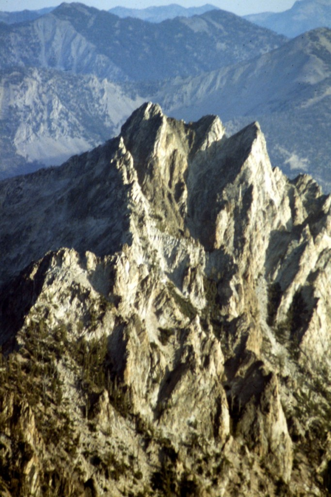 Perfect Peak viewed from Snowyside Peak.
