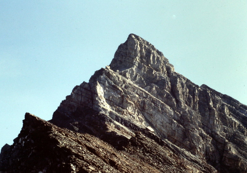 The North Ridge of Old Hyndman Peak.