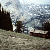 Pioneer Cabin, one of the best view points in Idaho is a eight mile round trip hike from Coral Creek.