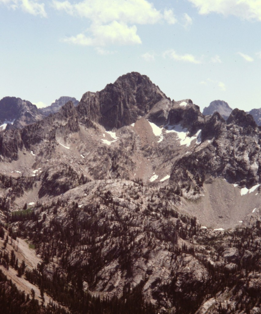 Tohobit Peak viewed from Observation Peak.
