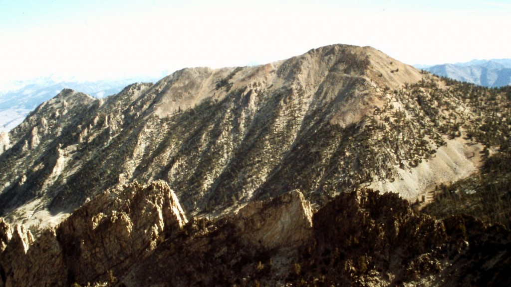 Mount McDonald viewed from the summit of El Cap.