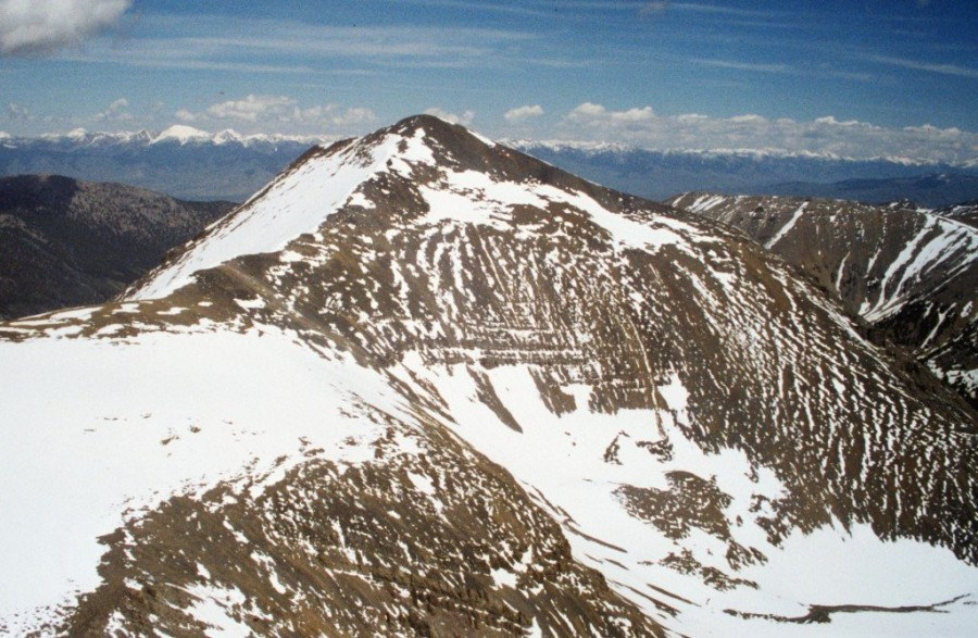 Pavlos Peak from Petros Peak.