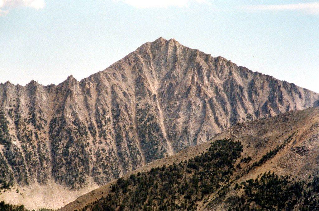 Peak 11272 from Blackmon Peak.
