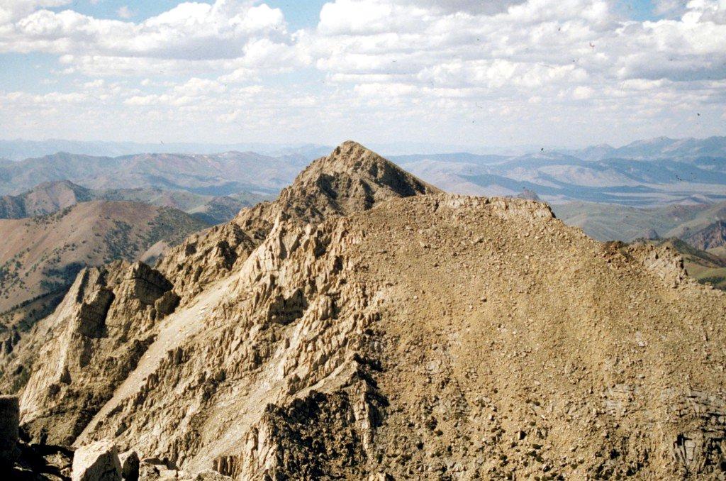 Pegasus Peak from Altair Peak