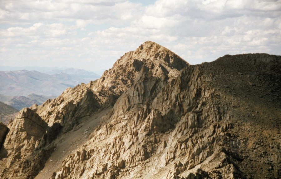 Pegaus Peak from Altair Peak.