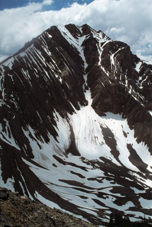 Petros Peak from Christian Gulch.