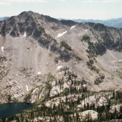 Plummer Peak from Mount Everly.
