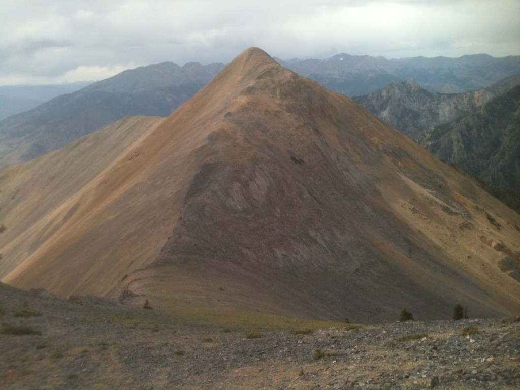 Red Cone from the south ridge of North Twin.