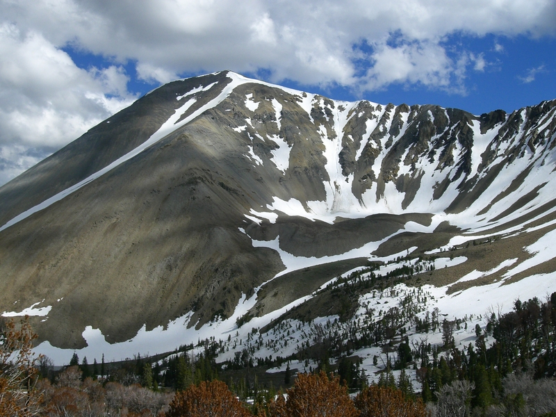 Redbitd Mountain. Matt Durrant Photo