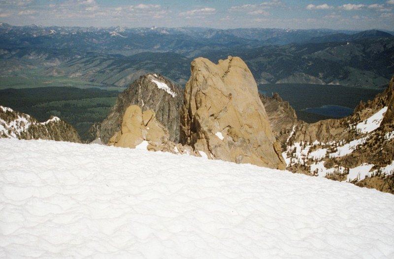Rotten Monolith from the Braxon summit.