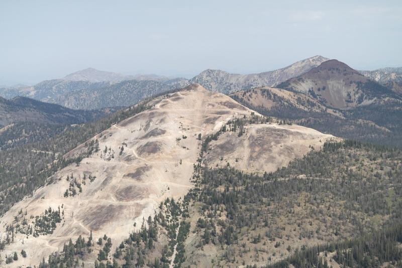 Estes Mountain's south face from Mount Greylock.