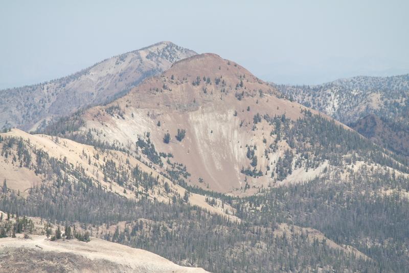Peak 9758 viewed from Mount Greylock.