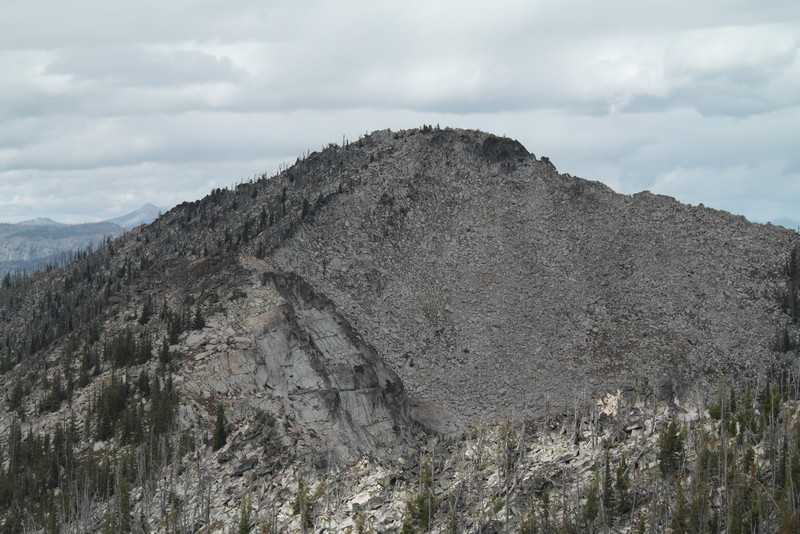 Rain Peak from Burnside Peak.