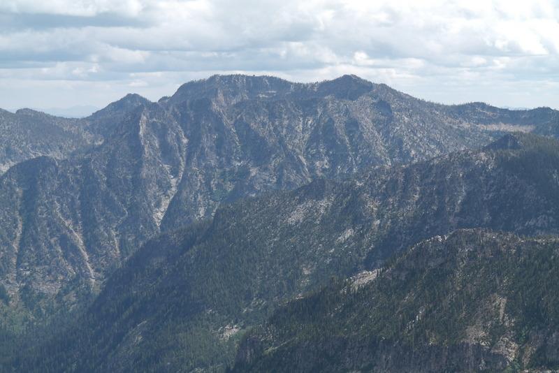 McCabe Peak from Burnside Peak.