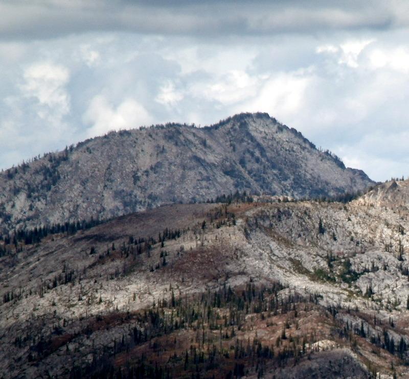 Bruin Mountain from Burnside Peak.