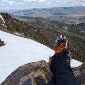 An Alpinist Guide to Pocatello Snow Climbs and Scrambles. Scot Kelchner photo.