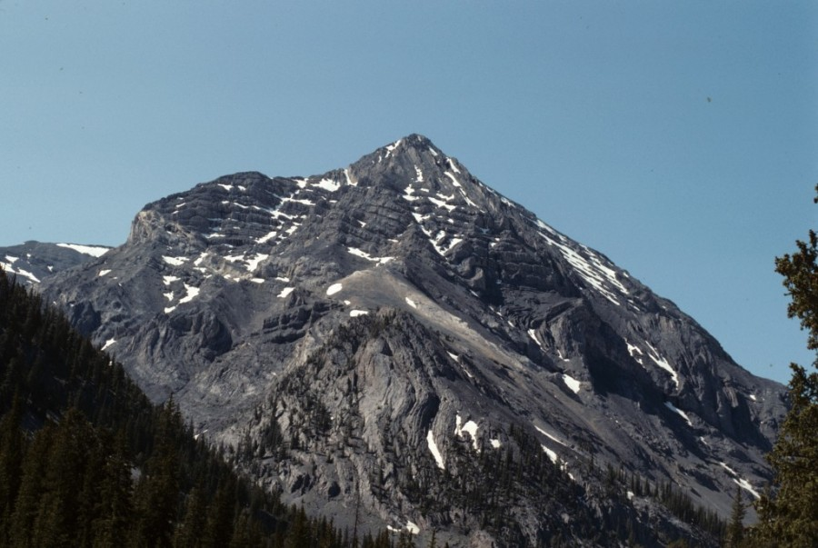 Shadow Lake Peak from Long Lost Valley.