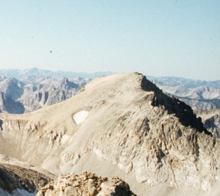 Mount Carter from Williams Peak,