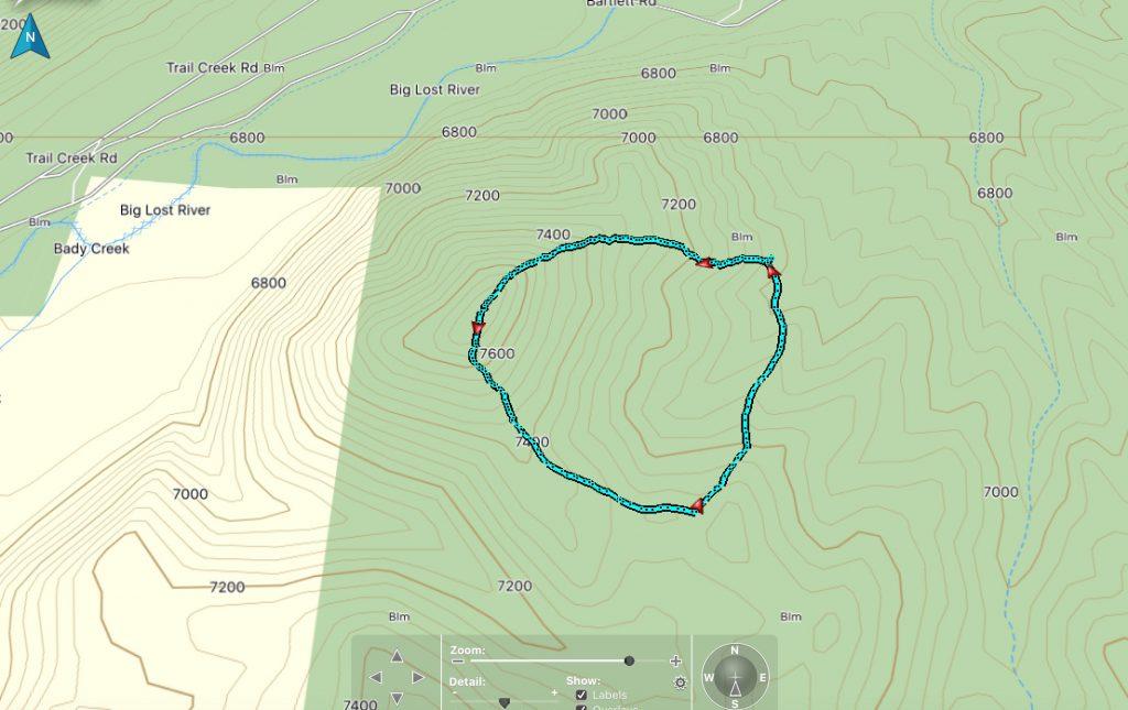 Climbing track - Steve Mandella