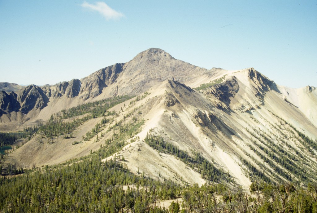 White Mountain from the Slopes of South Twin Peak.