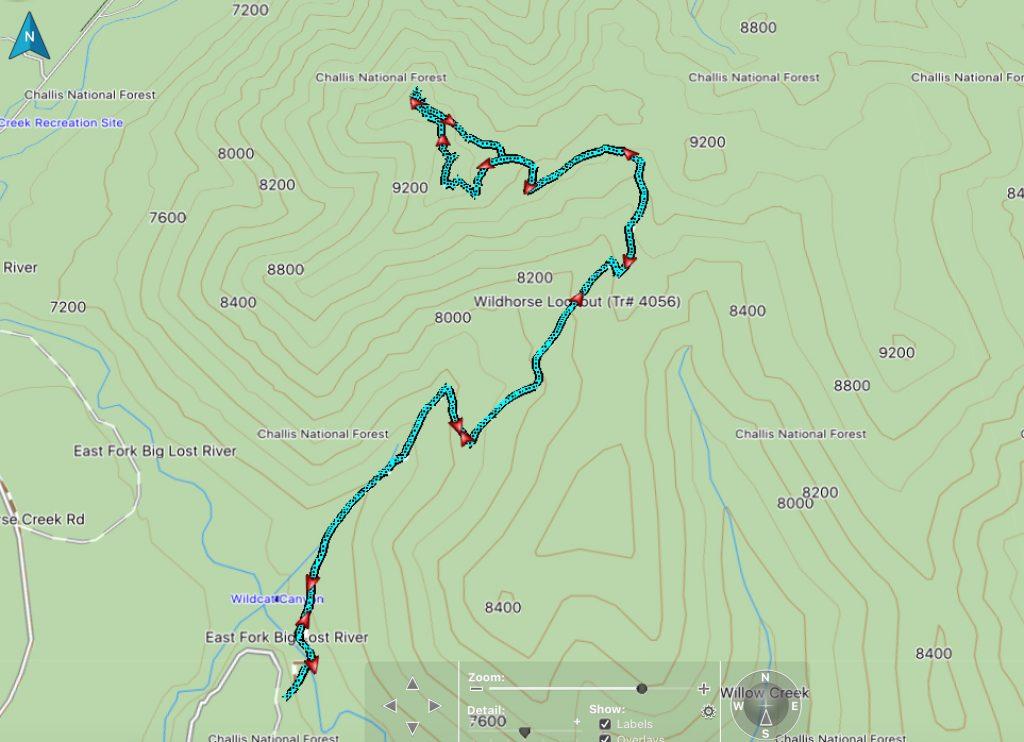 Climber's track - Steve Mandella