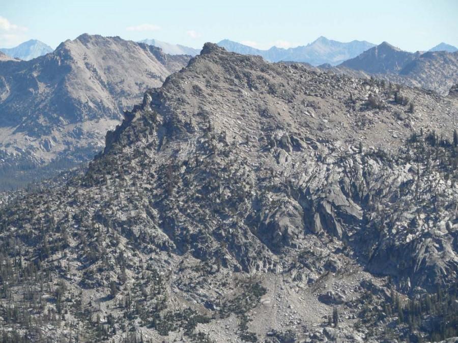 Benedict Peak. John Platt Photo