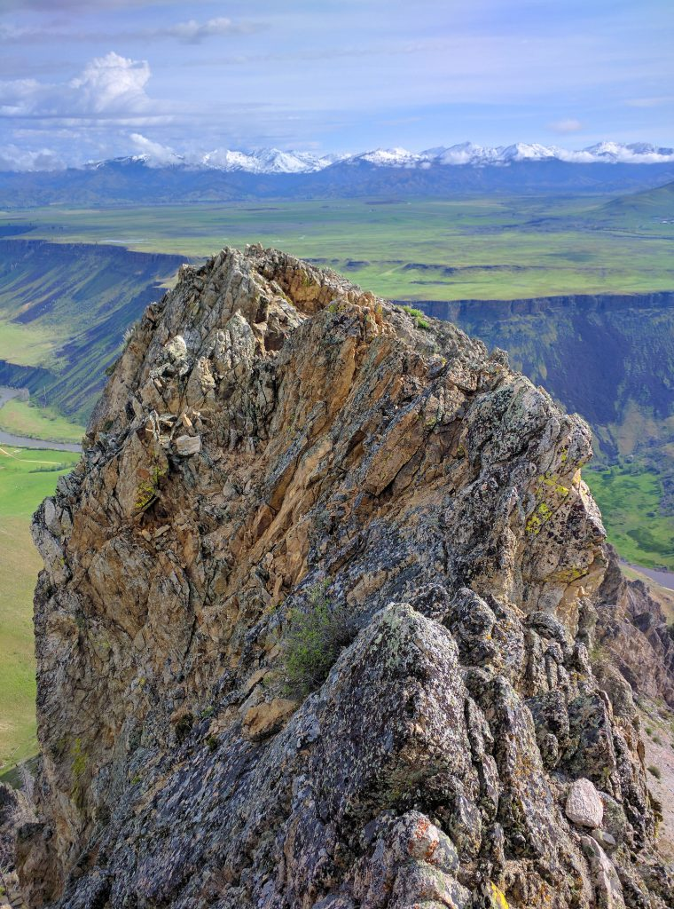 Cathedral Rocks summit view looking northeast. Erik Pohlmann Photo