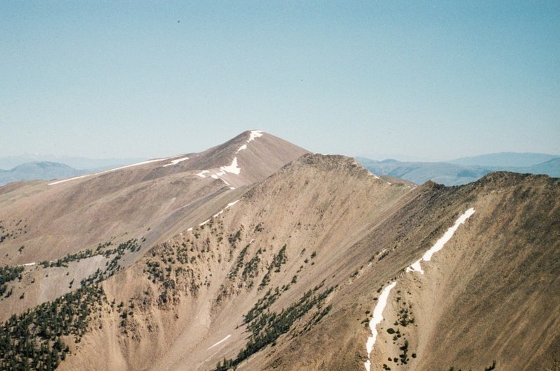 Cottonwood Peak from Jump Peak.
