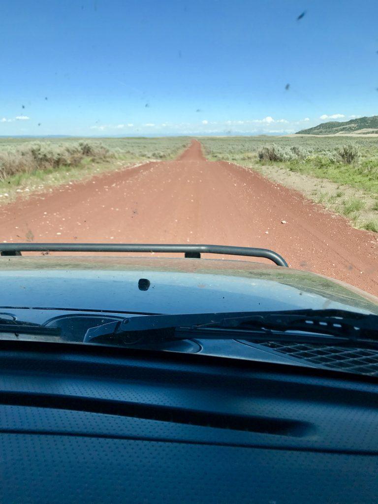The Red Road. Margo Mandella photo.