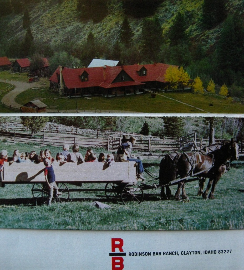 The cover of a Robinson Bar Ranch brochure. Joe Leonard Photo