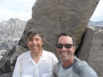 With John Platt on the summit of JT Peak.