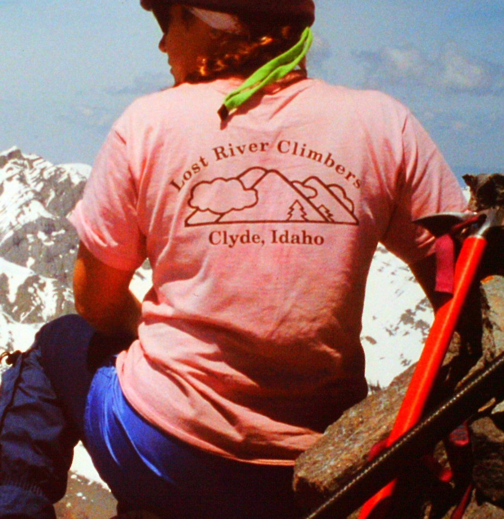 The Lost River Climbers T-shirt.