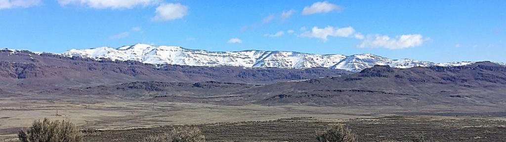 Bennett Mountain from the summit of Jackson School Butte.