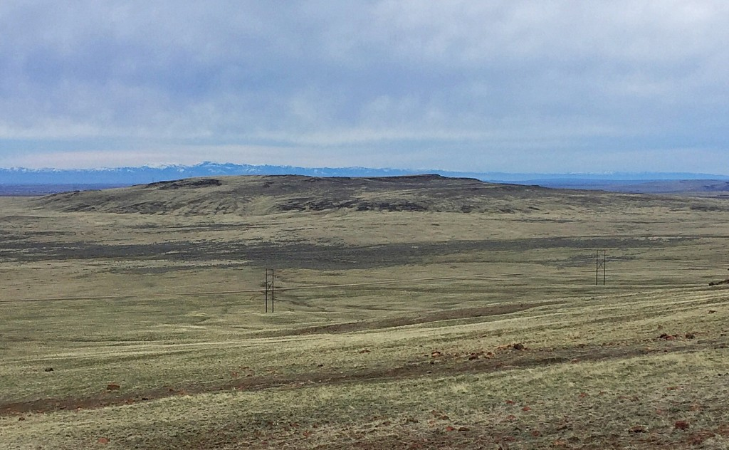 Jackson School Butte from Teapot Dome.