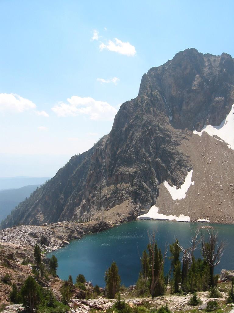 Peak 10300 from the north. John Platt Photo